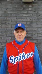 Coach/Speler Perry Dufais